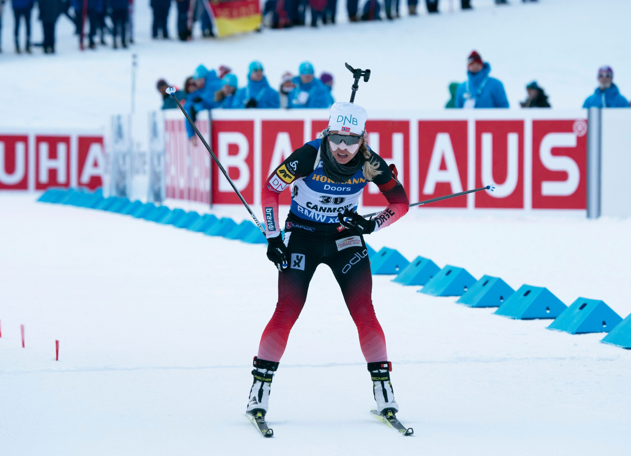 Eckhoff and Bø claim short individual victories at IBU World Cup in Canmore