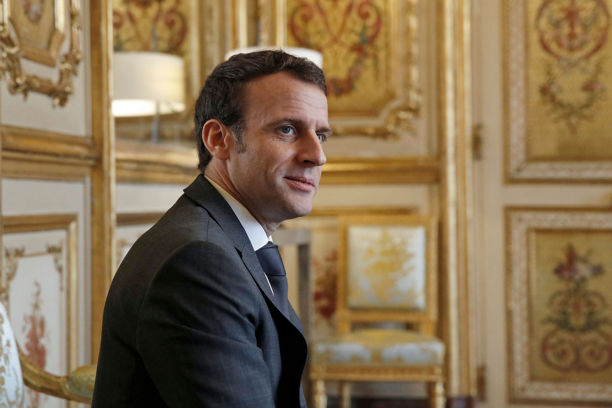 French President Emmanuel Macron has claimed that Paris 2024 is not yet providing benefits to some of the capital's poorest areas ©Getty Images