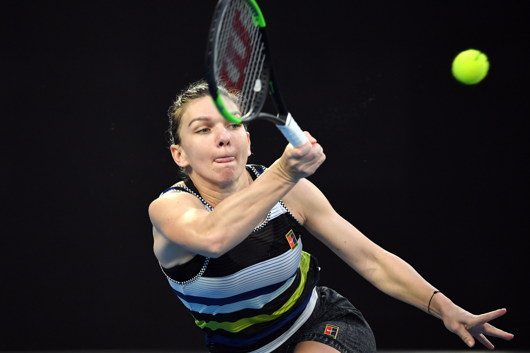 Simona Halep will line-up for Romania against defending champions the Czech Republic ©Getty Images