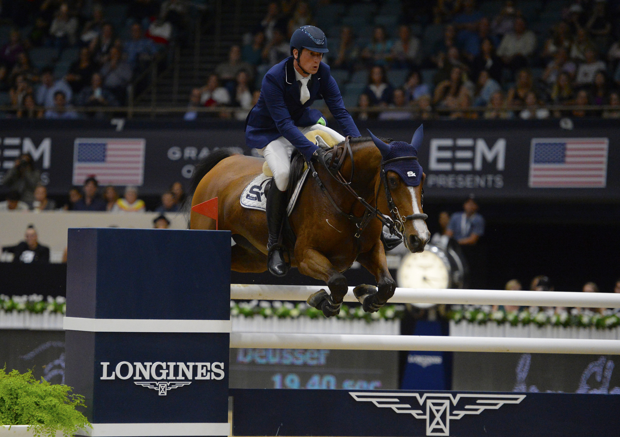 Germany's Daniel Deusser is 100 per cent certain of a place in the FEI Jumping World Cup Final, but a few spots are still up for grabs ©Getty Images