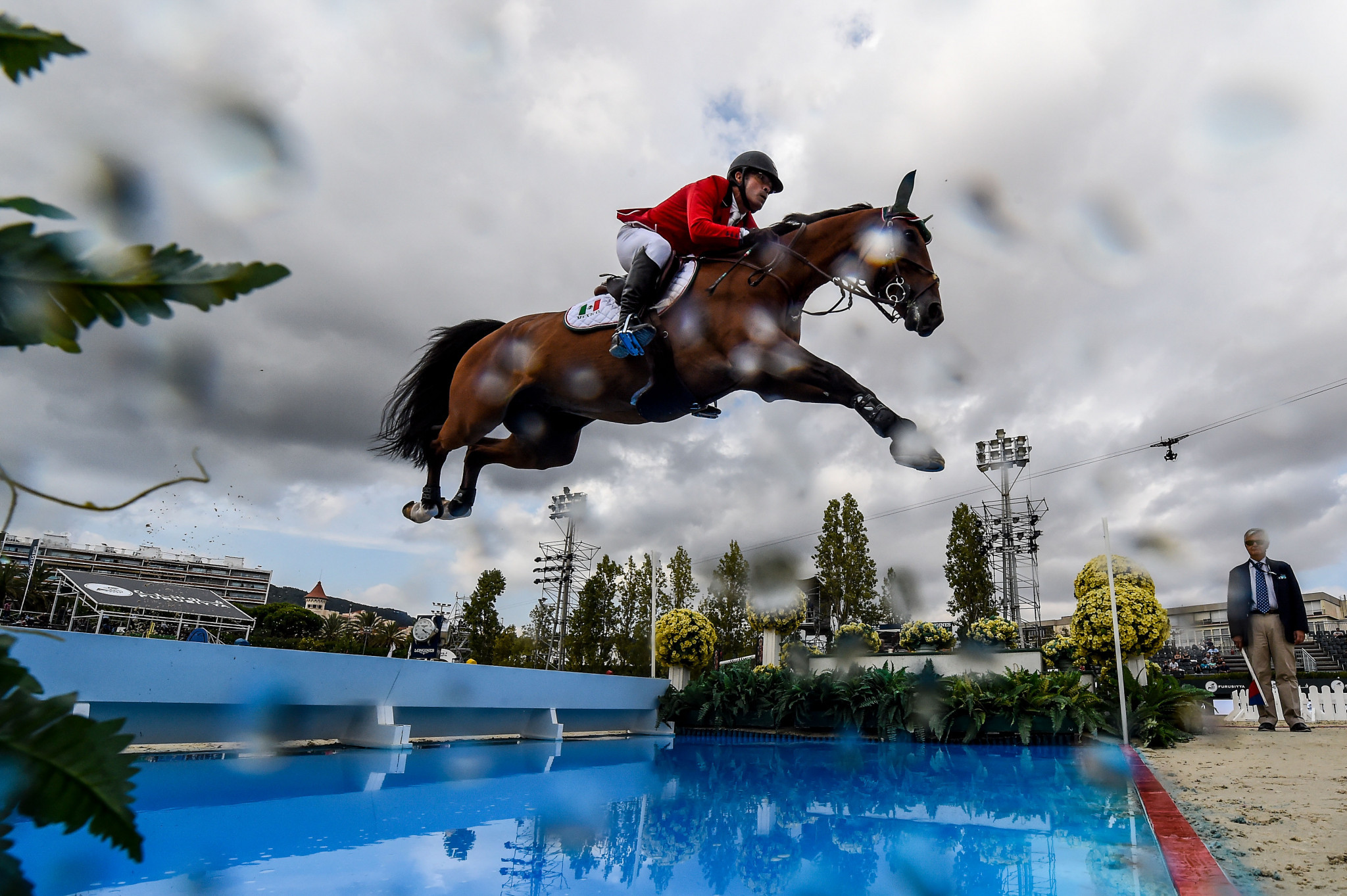 Patricio Pasquel completed the top three in the FEI Jumping World Cup qualifier in León in Mexico ©Getty Images