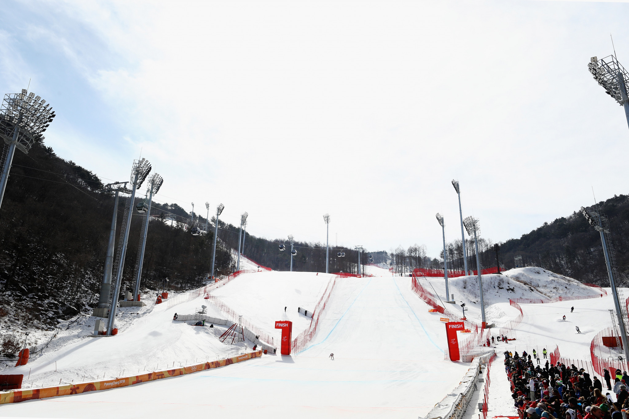 The Jeongseon Alpine Centre is one of three venues used during the 2018 Winter Olympic and Paralympic Games in Pyeongchang where legacy plans have not been confirmed ©Getty Images