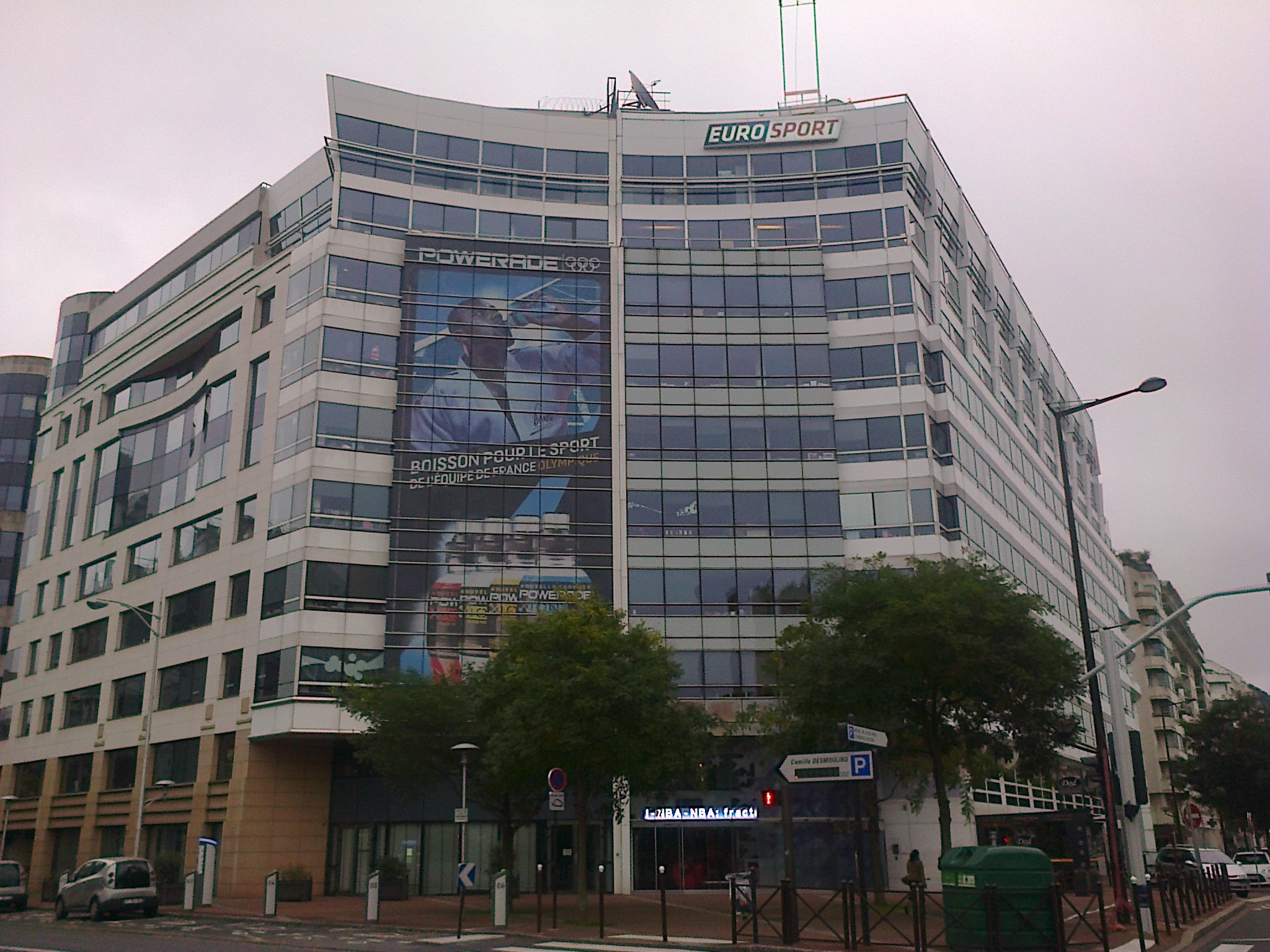 Eurosport's headquarters are now in Issy Les Moulineaux in Paris ©Wikipedia