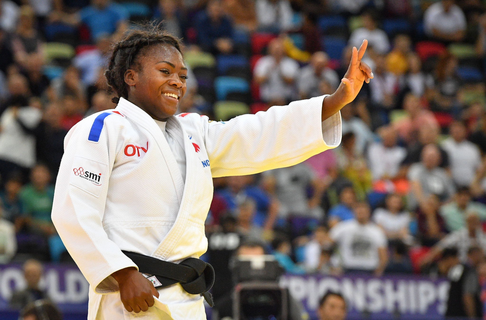 Clarisse Agbegnenou will be the biggest draw on home soil in Paris ©Getty Images