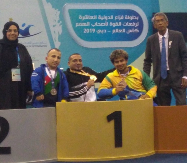 Paralympic medallist Qarada strikes gold on opening day of World Para Powerlifting World Cup in Dubai