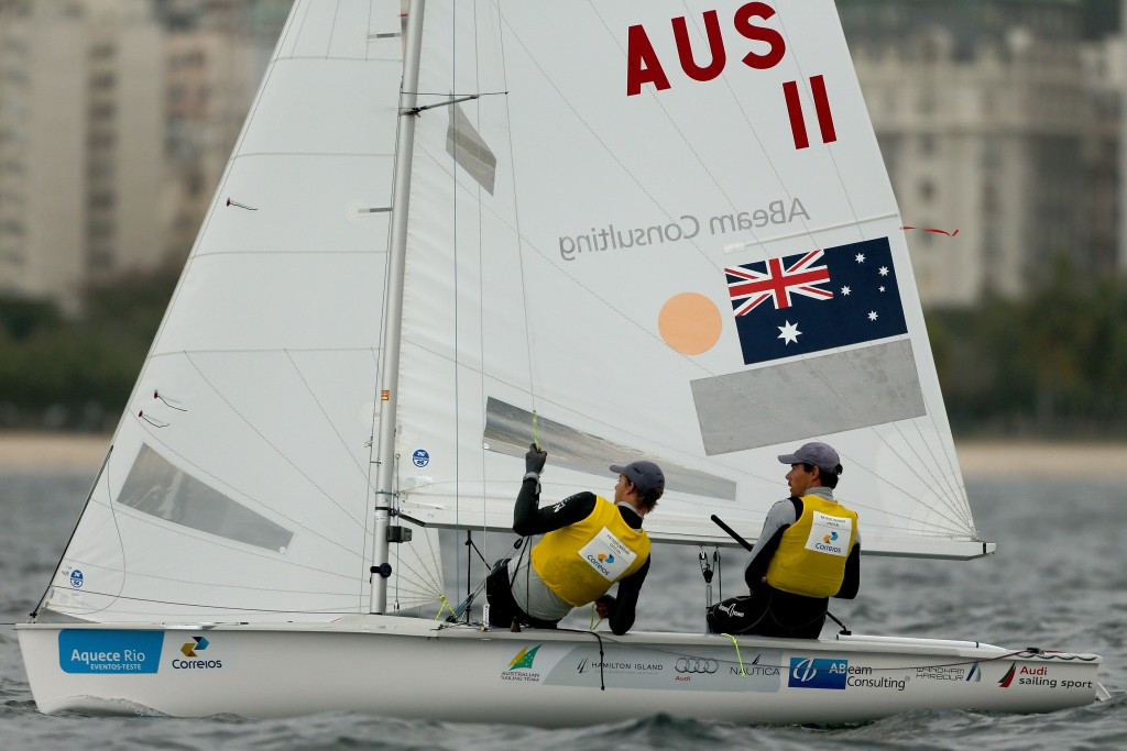 Australia's Belcher and Ryan claim third consecutive title at ISAF 470 World Championships