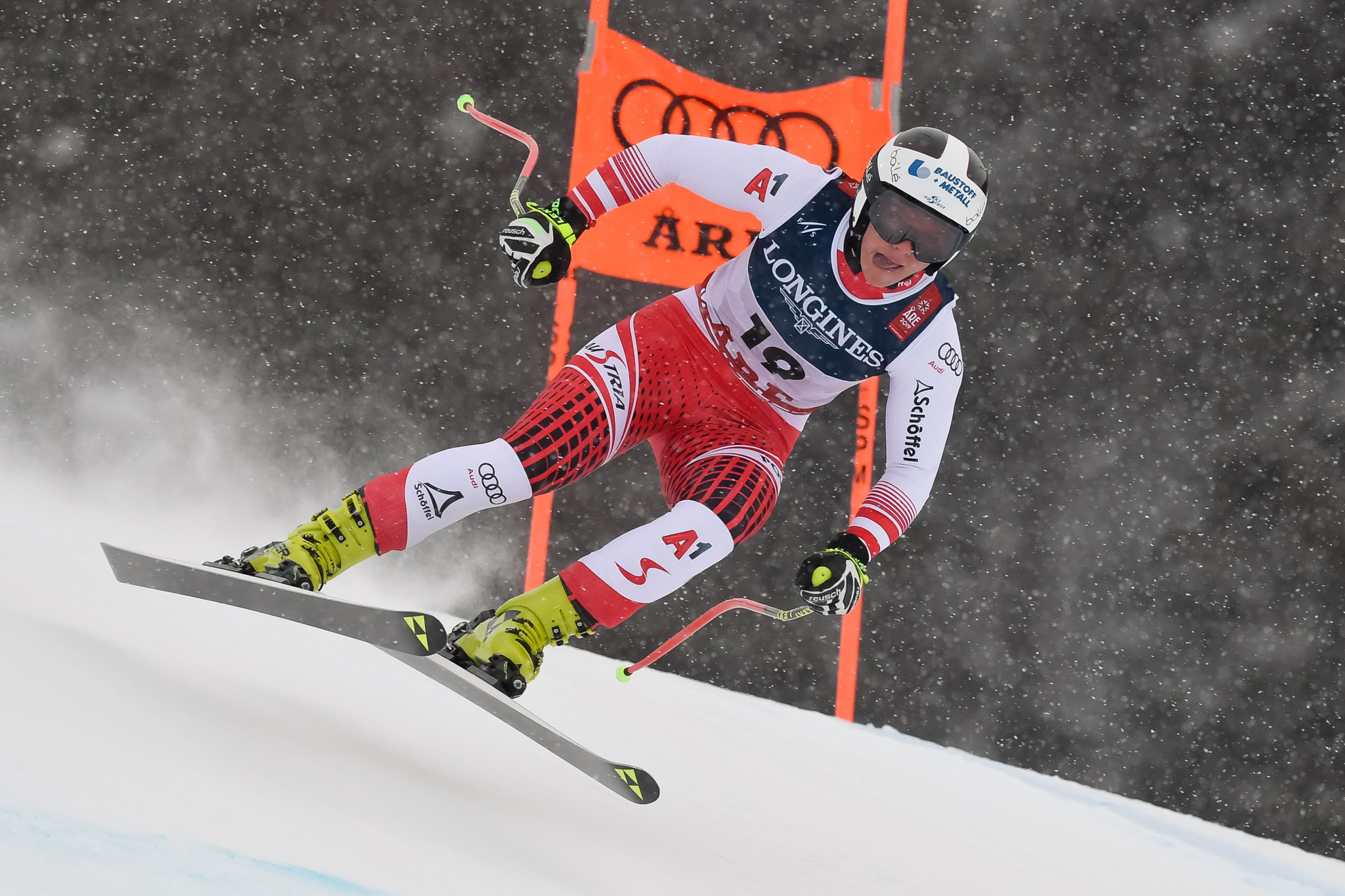 Austria's Ramona Siebenhofer achieved the fastest downhill time ©Getty Images