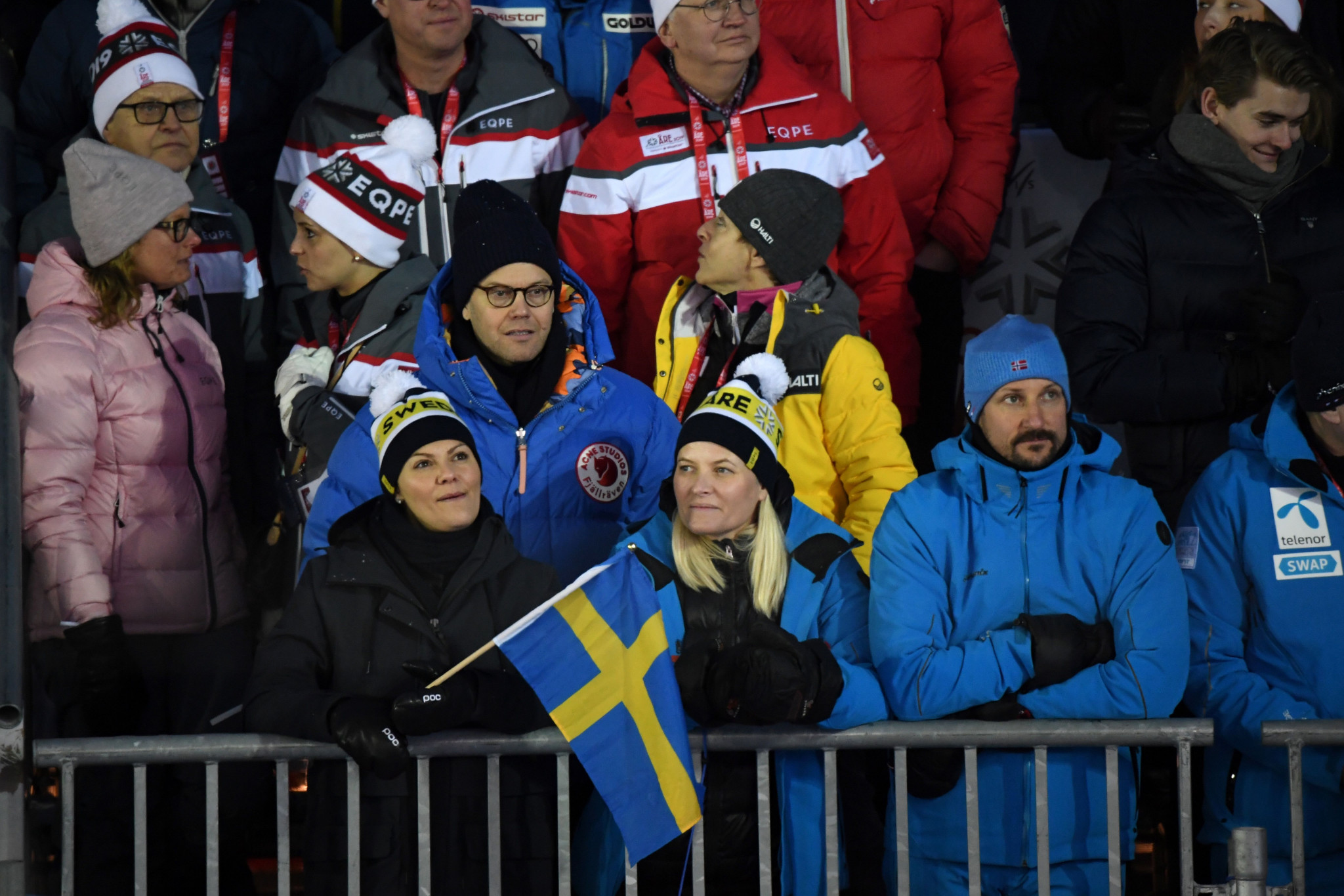 Swedish royalty was present to watch competition in Åre ©Getty Images