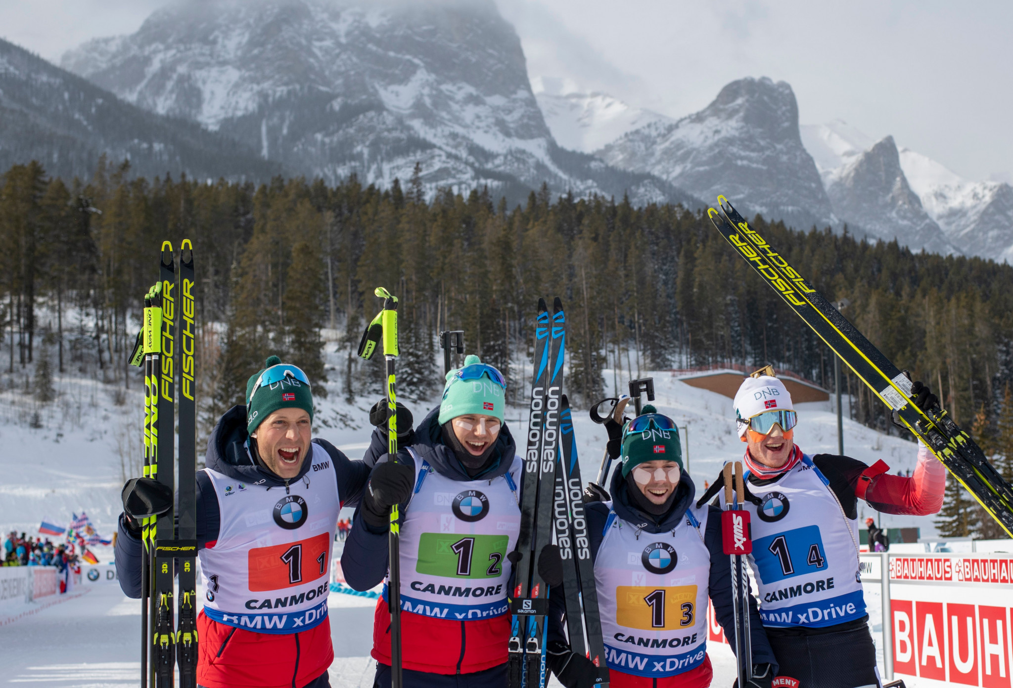 Bø earns second consecutive victory as Norway win men's relay at IBU World Cup