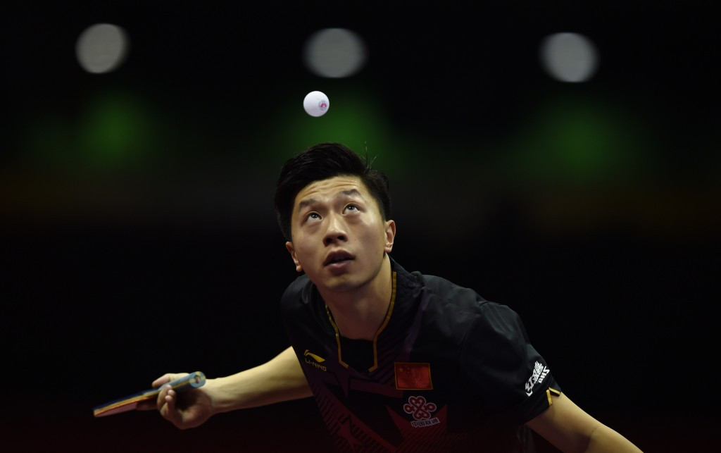 Top seed Ma reaches semi-finals at ITTF World Cup