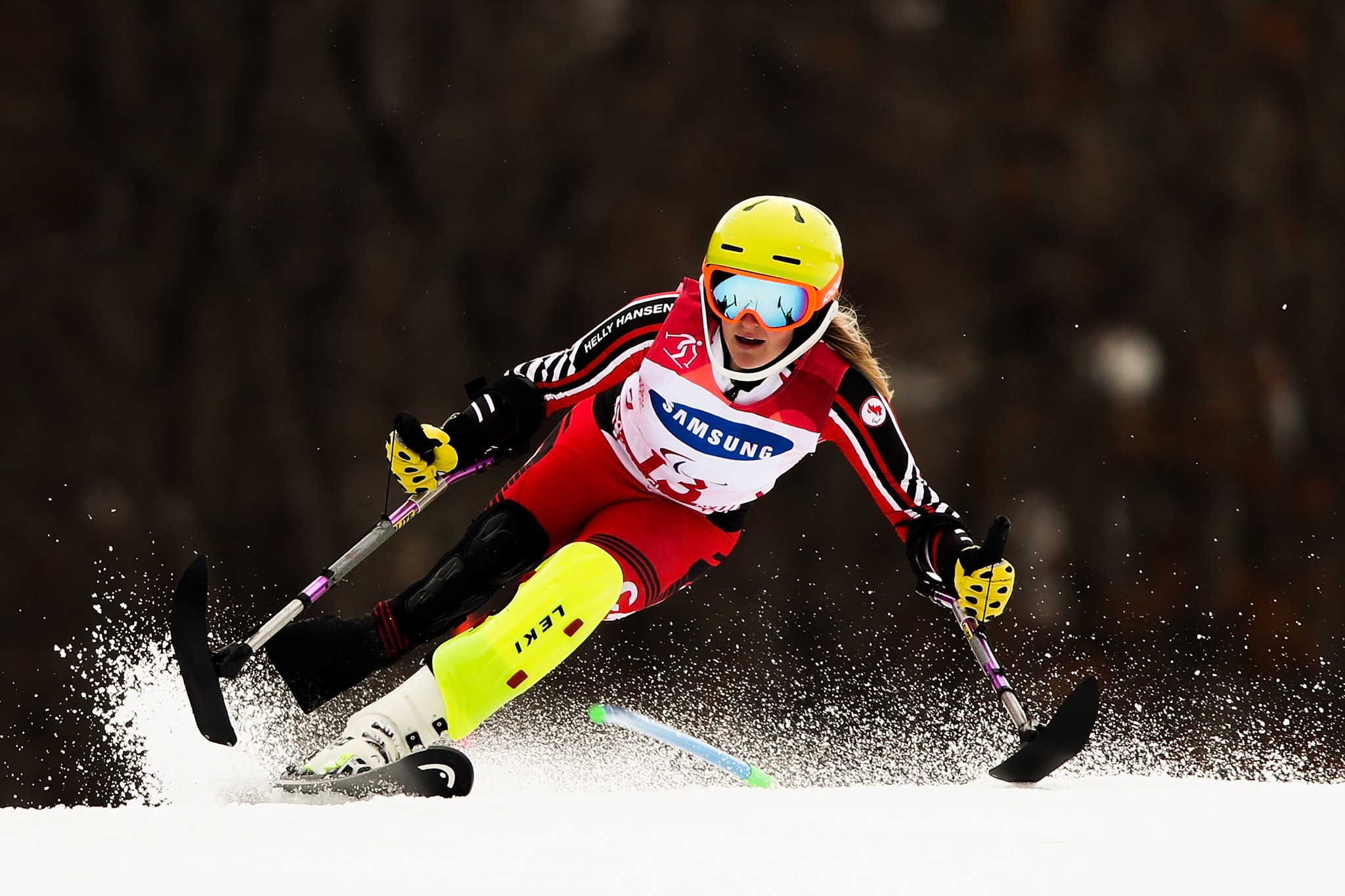 Canada's Frederique Turgeon is one of the four nominees for the award ©Getty Images