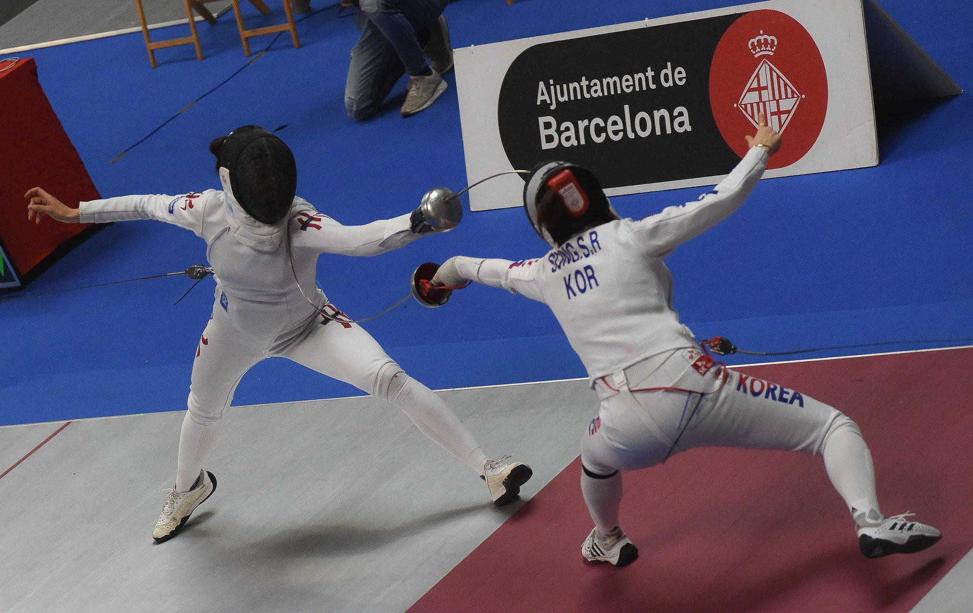 Kong continues impressive form with FIE Women's Épée World Cup win in Barcelona
