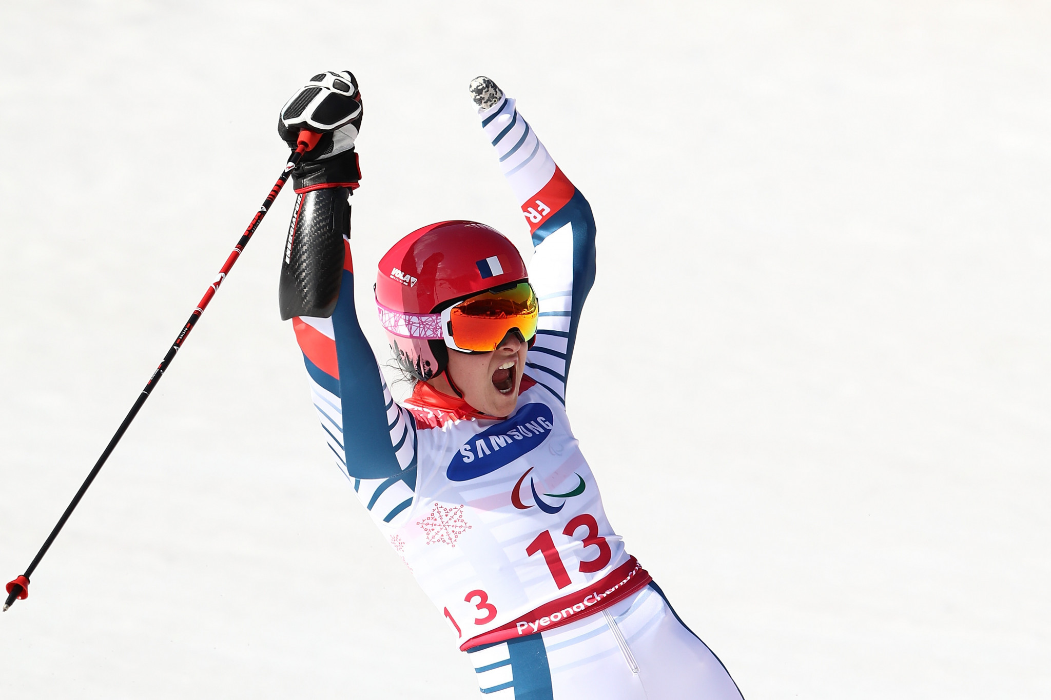 Brilliant birthday for Bochet at World Para Alpine Skiing World Cup