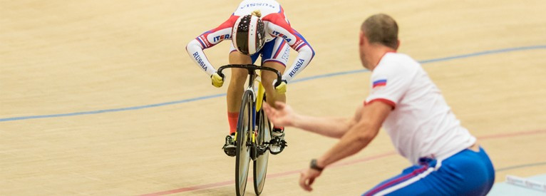 Russian Voinova breaks world record to secure second gold medal at European Track Cycling Championships