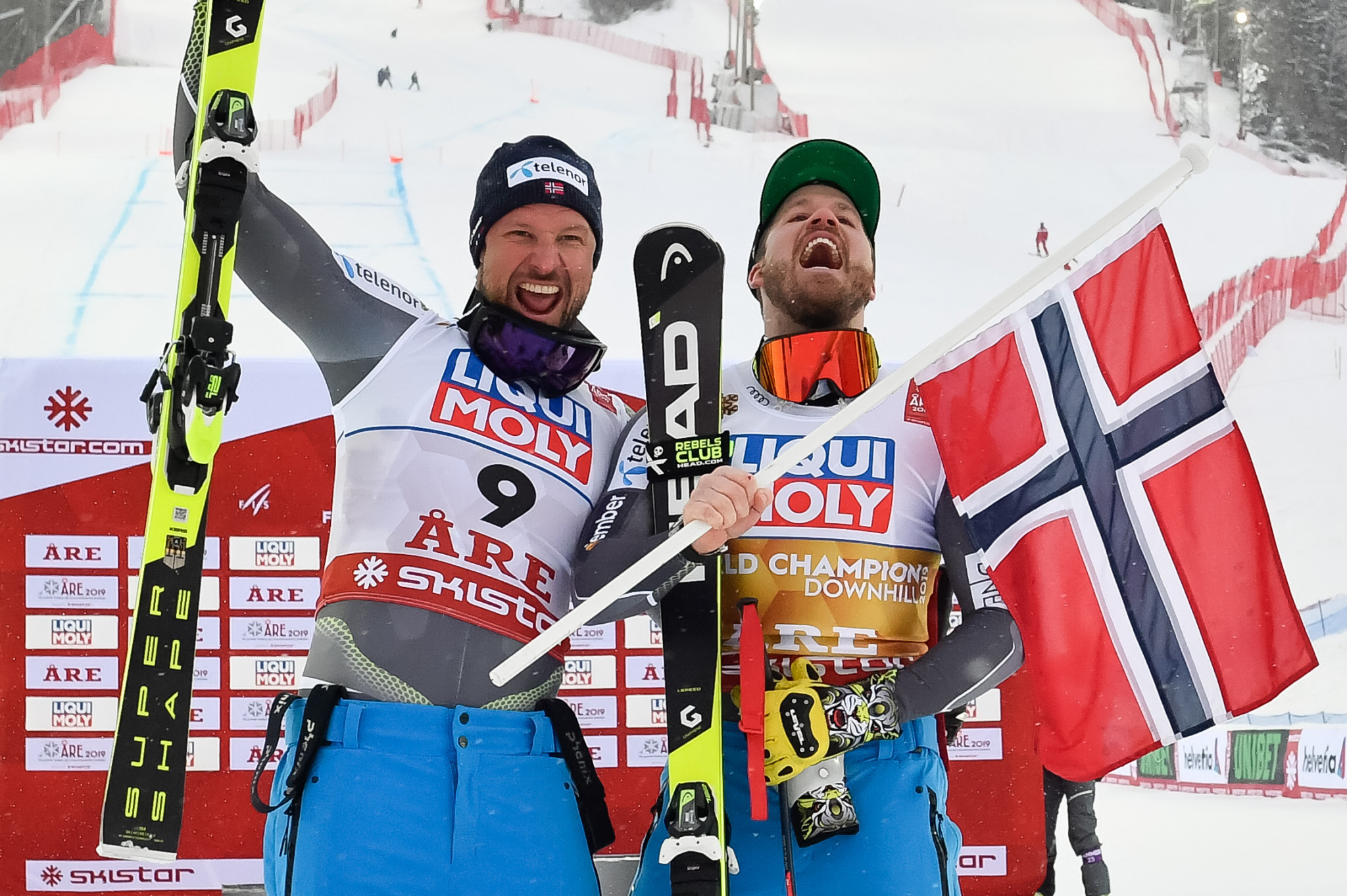 Jansrud secures downhill title as Svindal has silver swansong at FIS Alpine Skiing World Championships