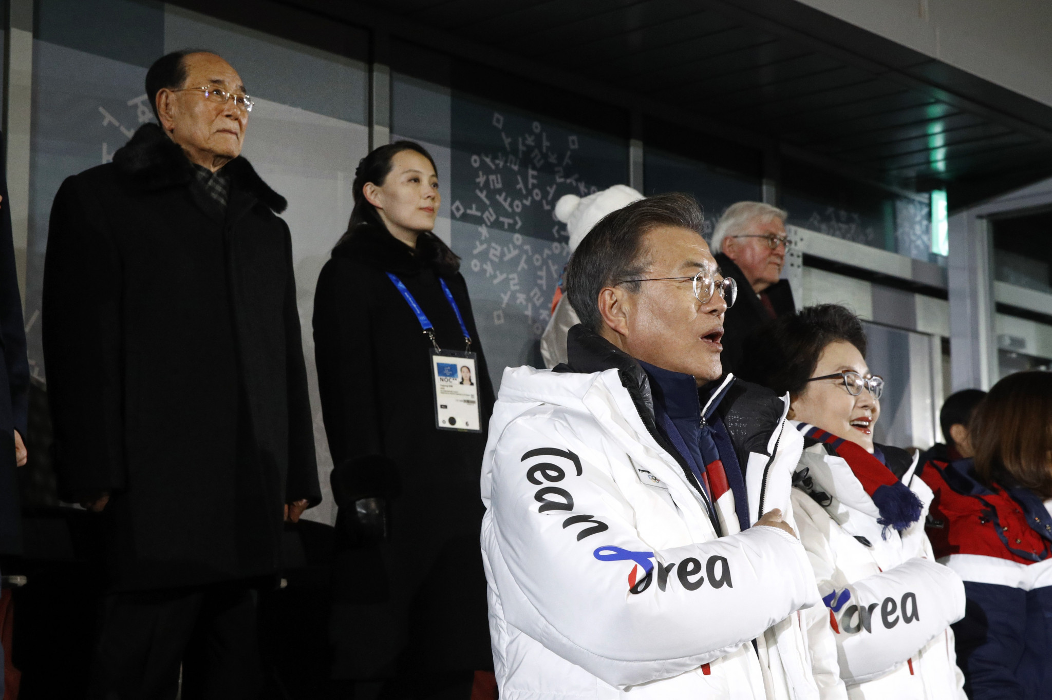 "Pyeongchang 2018 has led to ""snowman of peace"" between North and South Korea claims Moon"