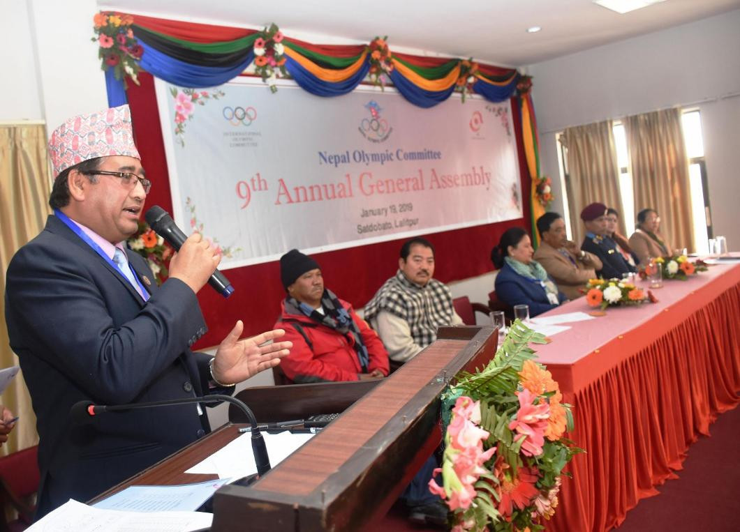 The Nepal Olympic Committee held its General Assembly in Kathmandu ©NOC