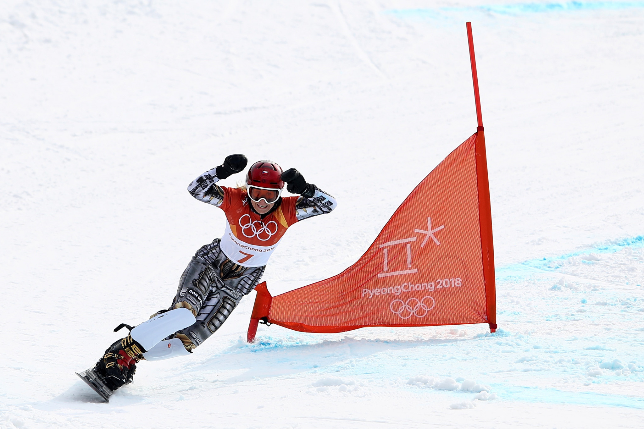 Gold in the parallel giant slalom snowboarding event at the 2011 Winter European Youth Olympic Festival in her native Czech Republic sent Ester Ledecká on her way to a historic Olympic double victory at Pyeongchang 2018 ©Getty Images