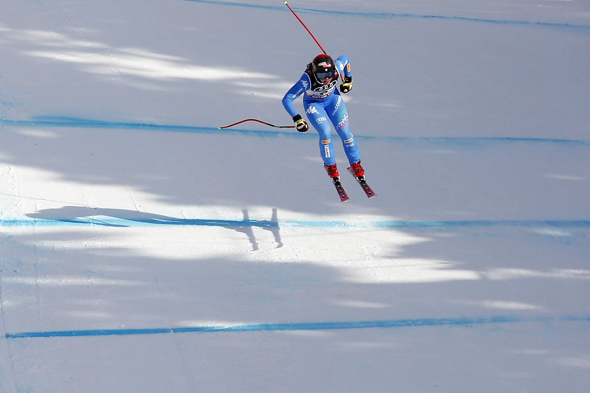 Downhill competition was the focus for the second successive day ©Getty Images