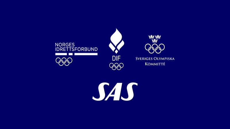 Scandinavian airline SAS has signed a sponsorship deal that will benefit the National Olympic Committees in Denmark, Norway and Sweden ©SAS