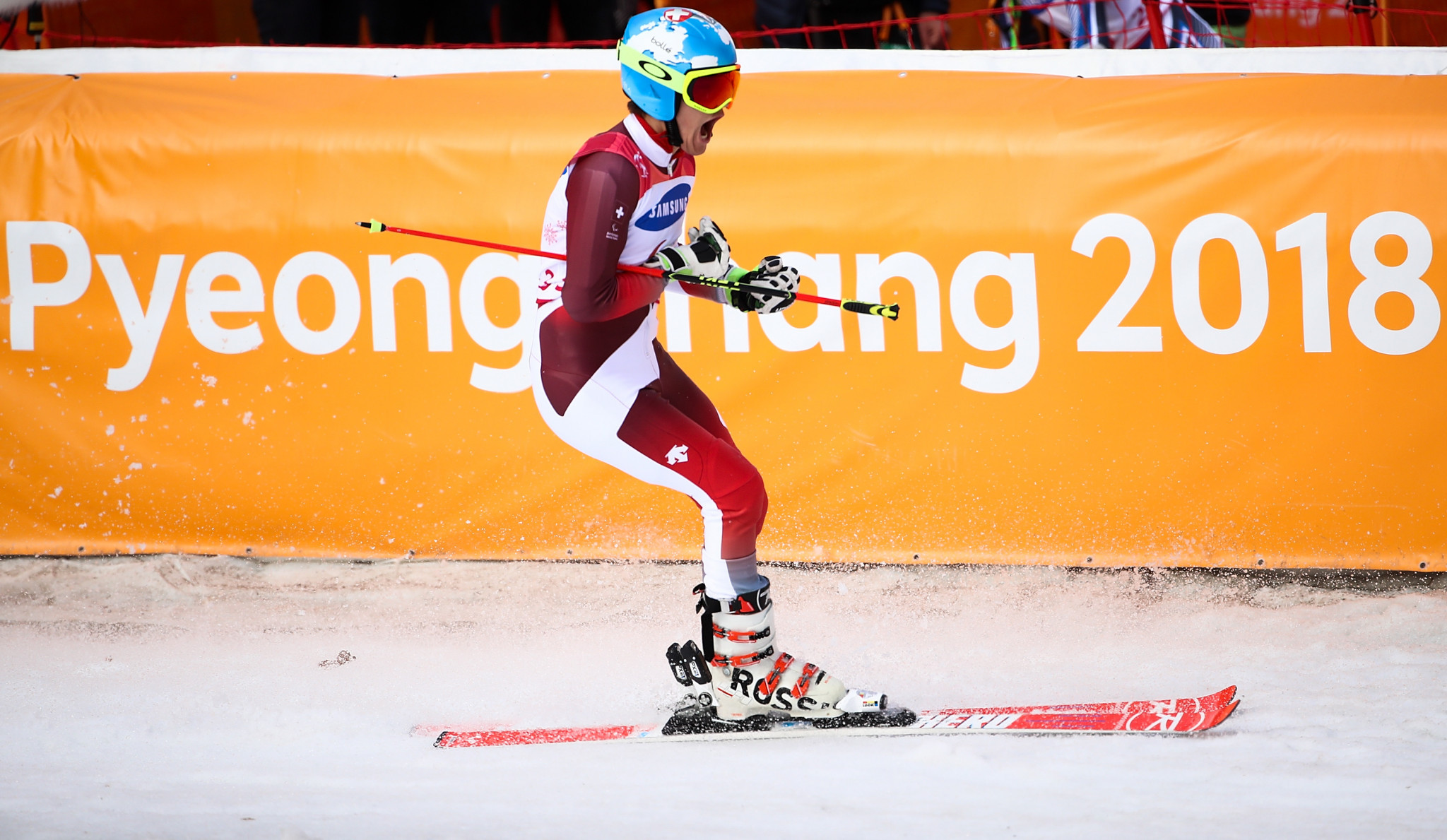 Gmur adds another home gold for Switzerland as World Para Alpine Skiing World Cup concludes in Veysonnaz