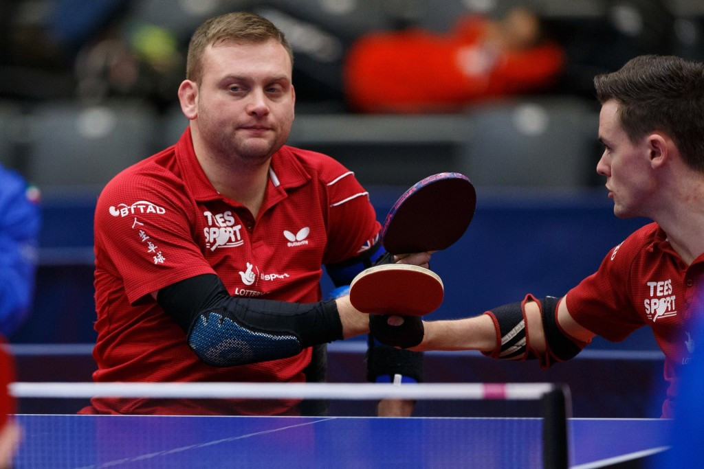 Britain and Russia claim gold medals on penultimate day of ITTF Para-Table Tennis European Championships