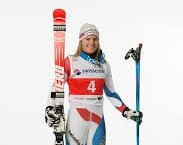 Amelie Wenger-Reymond of Switzerland sealed her second victory in as many days at the FIS Telemark World Cup in Bad Hindelang ©Facebook