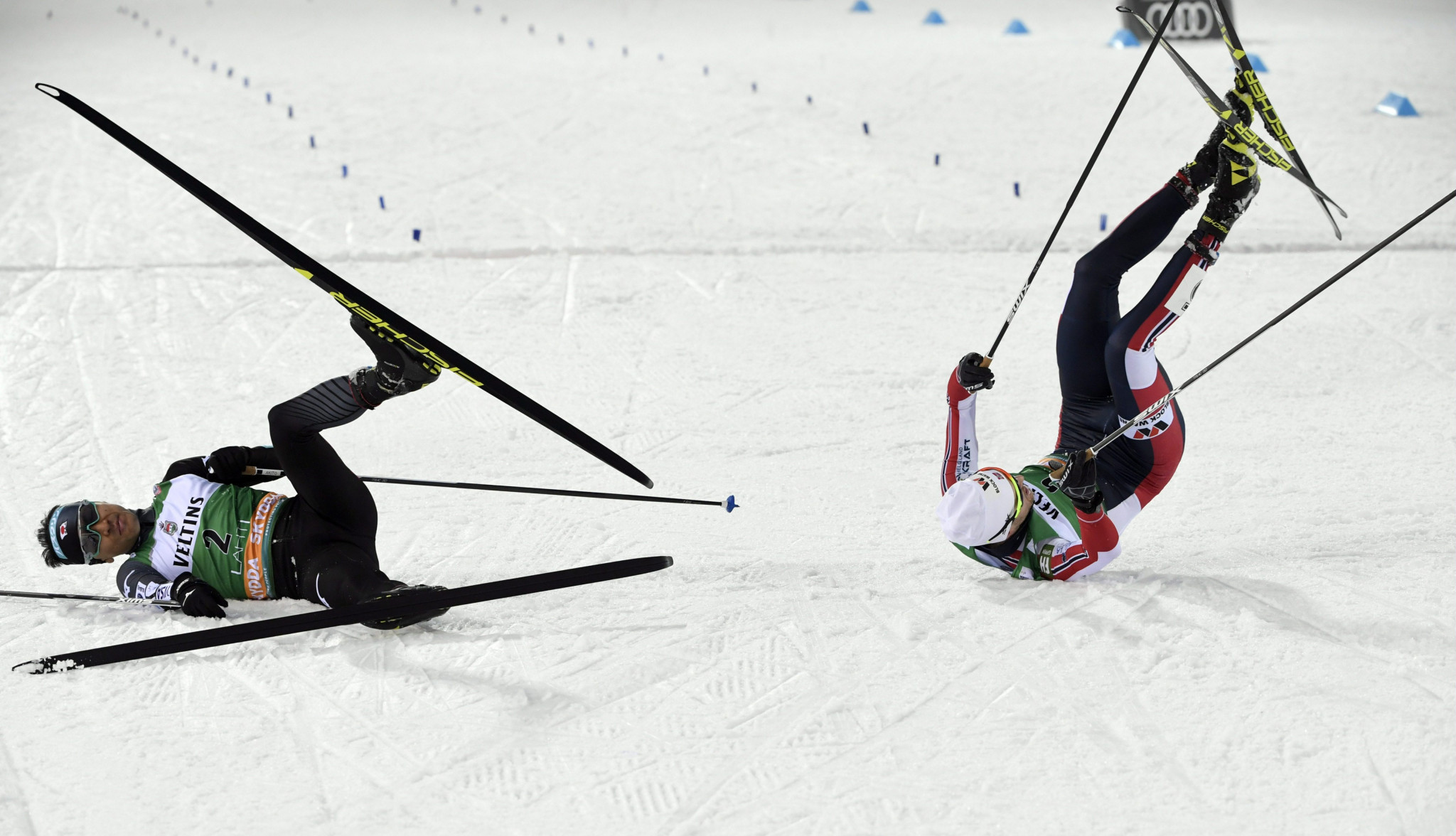 Graabak wins FIS Nordic Combined World Cup in Lahti in photo-finish