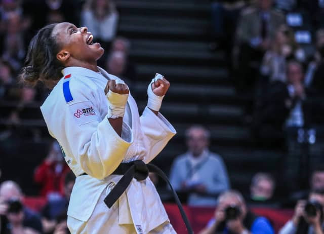 Malonga roars to more French gold at IJF Paris Grand Slam