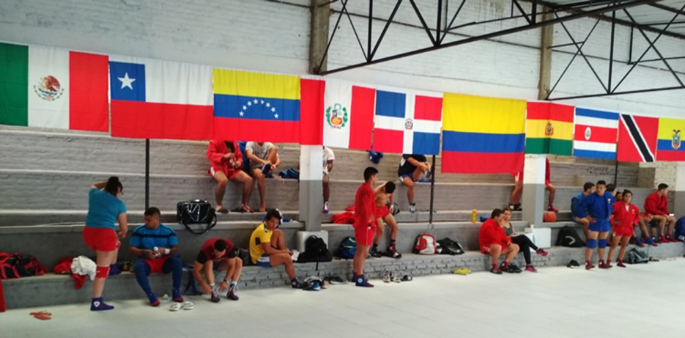 Athletes from numerous Pan American nations took part in the camp ©FIAS