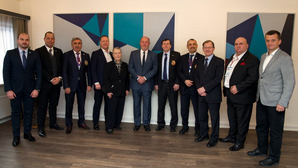 The European Karate Federation Executive Committee has met in Aalborg to analyse the situation with the sport on the continent ©WKF