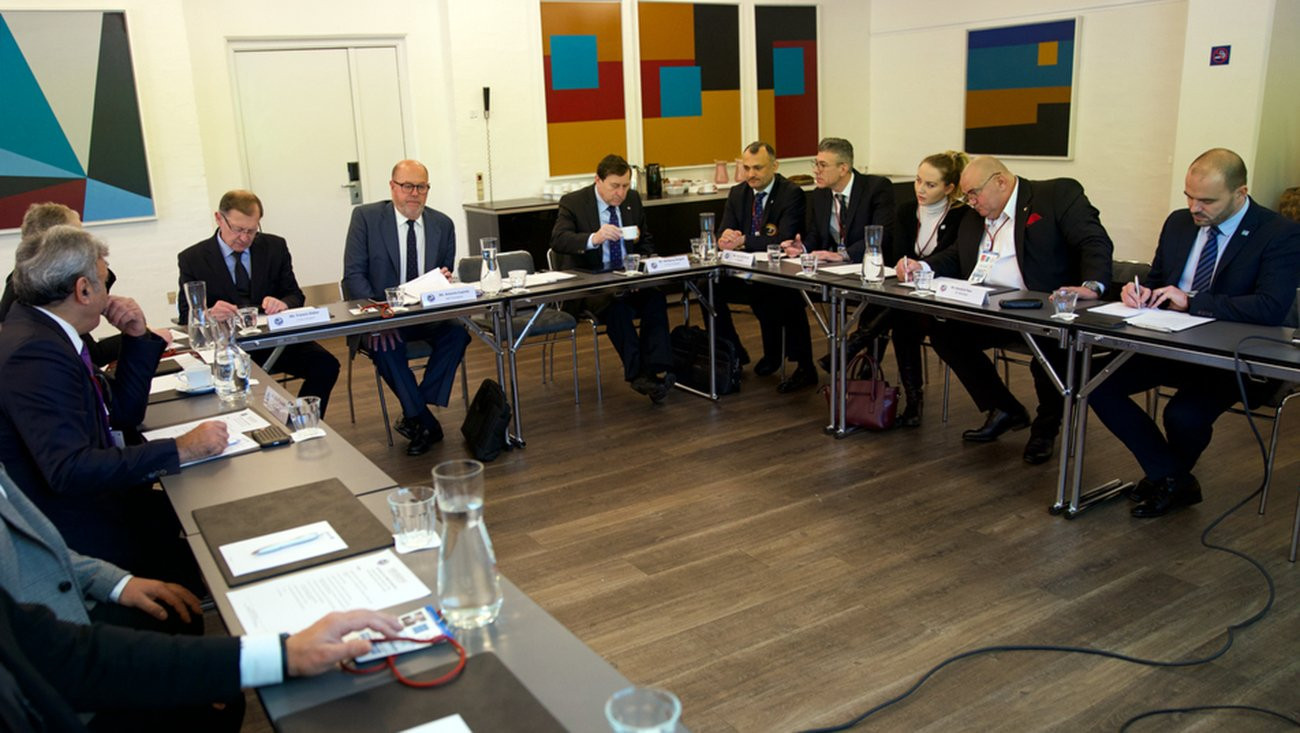 EKF and WKF President Antonio Espinós chaired the meeting in Aalborg ©WKF
