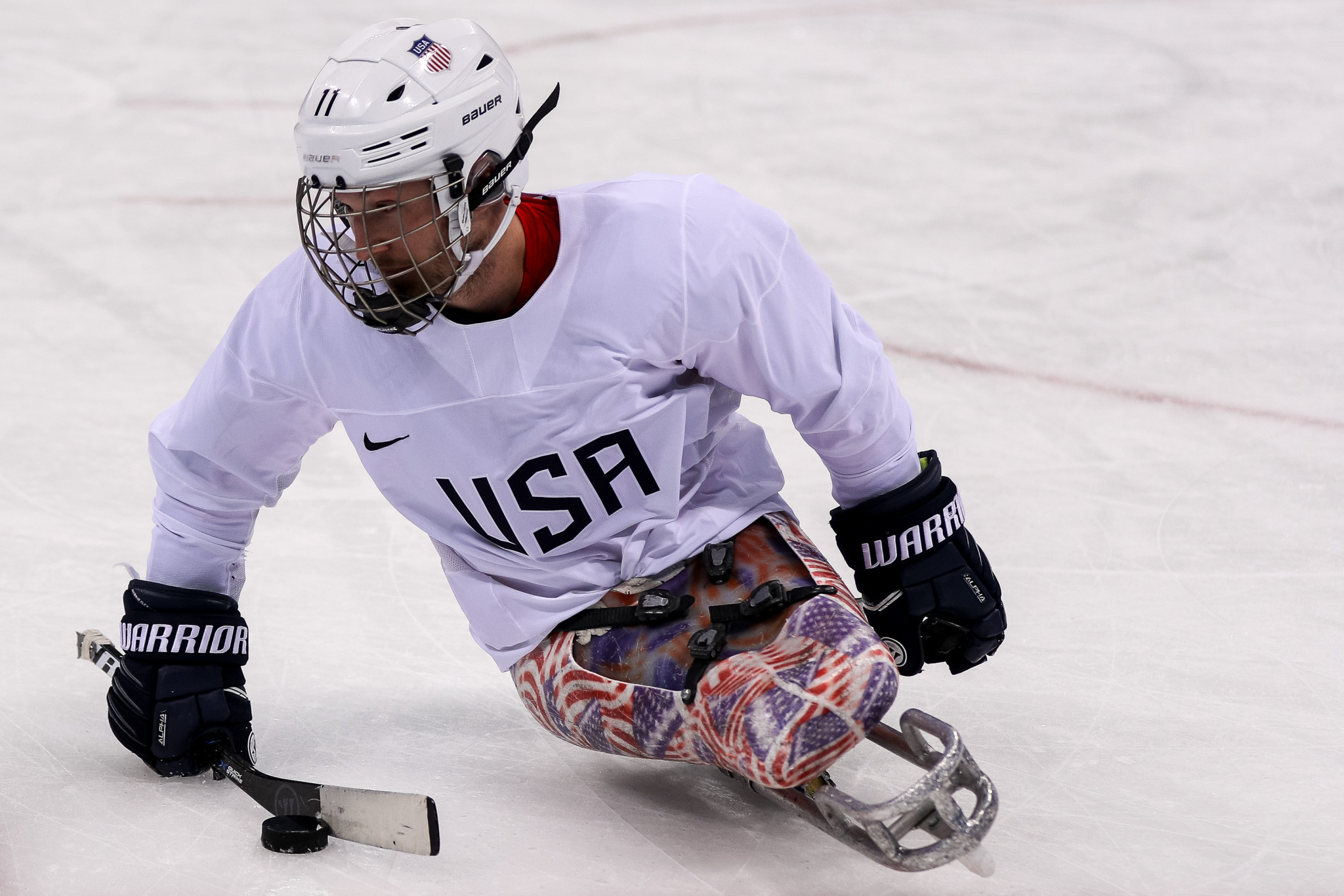 American ice hockey player to lose Paralympic gold medal after failed test at Pyeongchang 2018