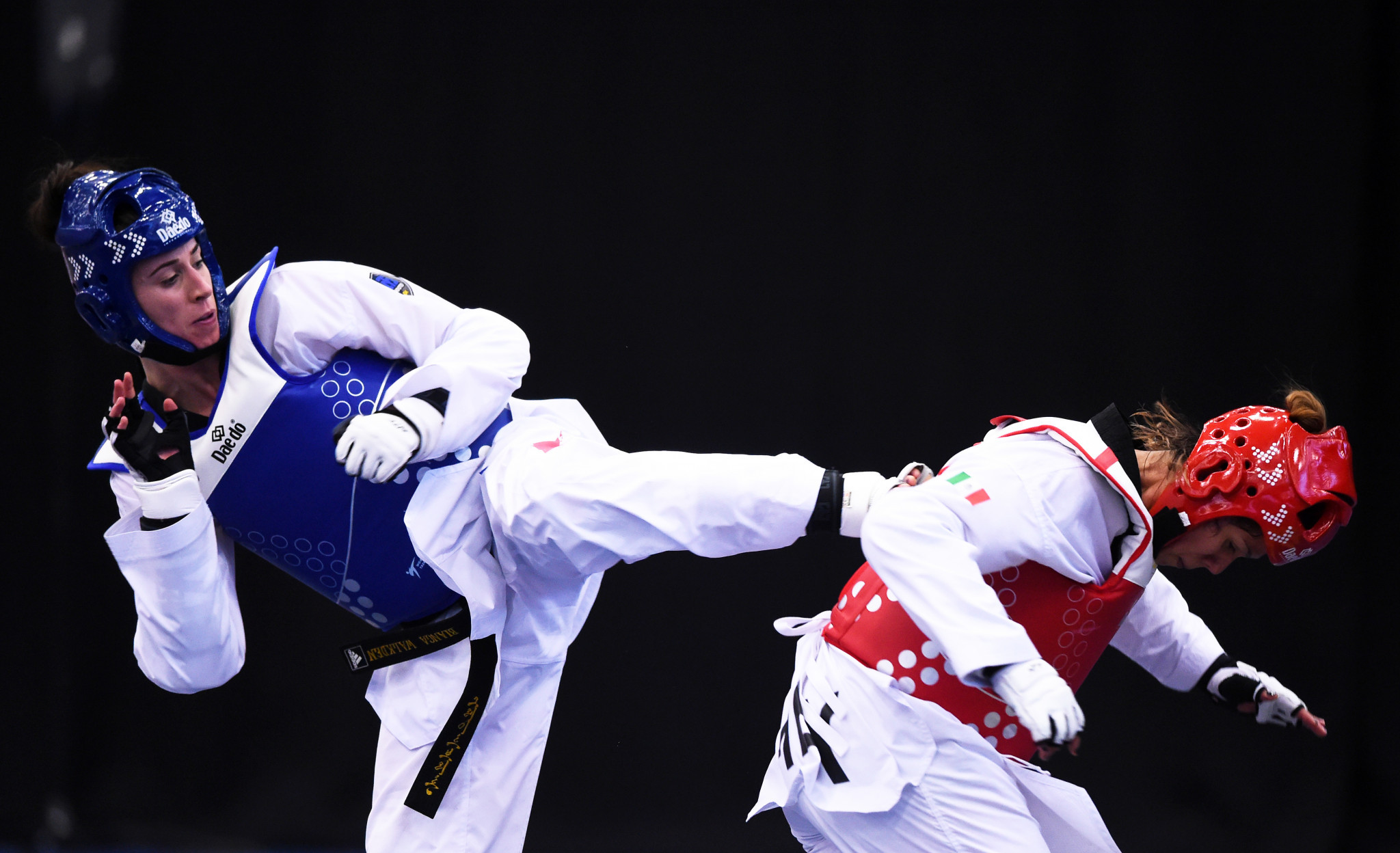 World champion Bianca Walkden claimed the women's over-73 kilograms title at the World Taekwondo President's Cup for Europe region in Antalya ©Getty Images