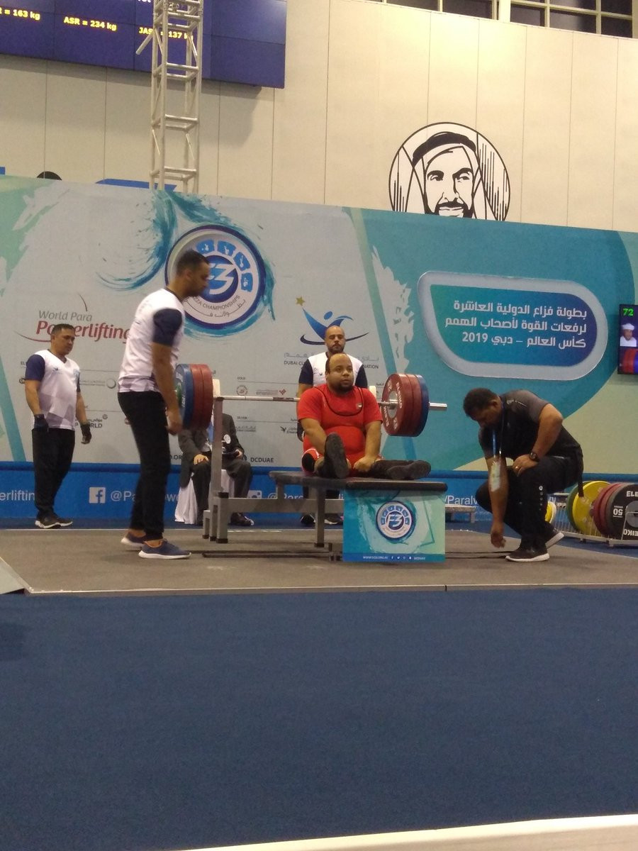 Paralympic gold medallist Abdelhady adds to Egyptian haul at World Para Powerlifting World Cup
