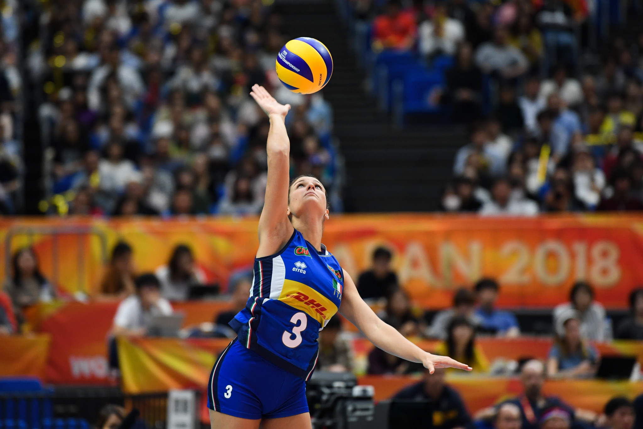 Italy has not entered either the men's or women's volleyball tournaments at their home Summer Universiade ©Getty Images