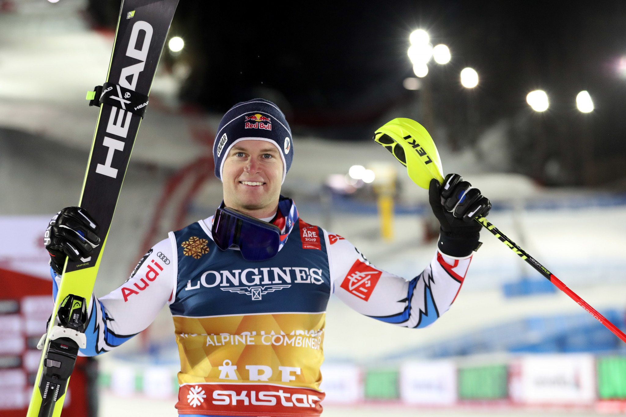 Pinturault uses slalom skill to win Alpine combined title at Alpine Skiing World Championships