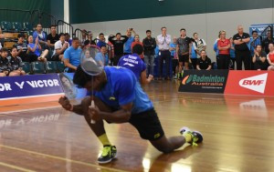 Defending champions safely through to quarter-finals at Oceania Badminton Championships