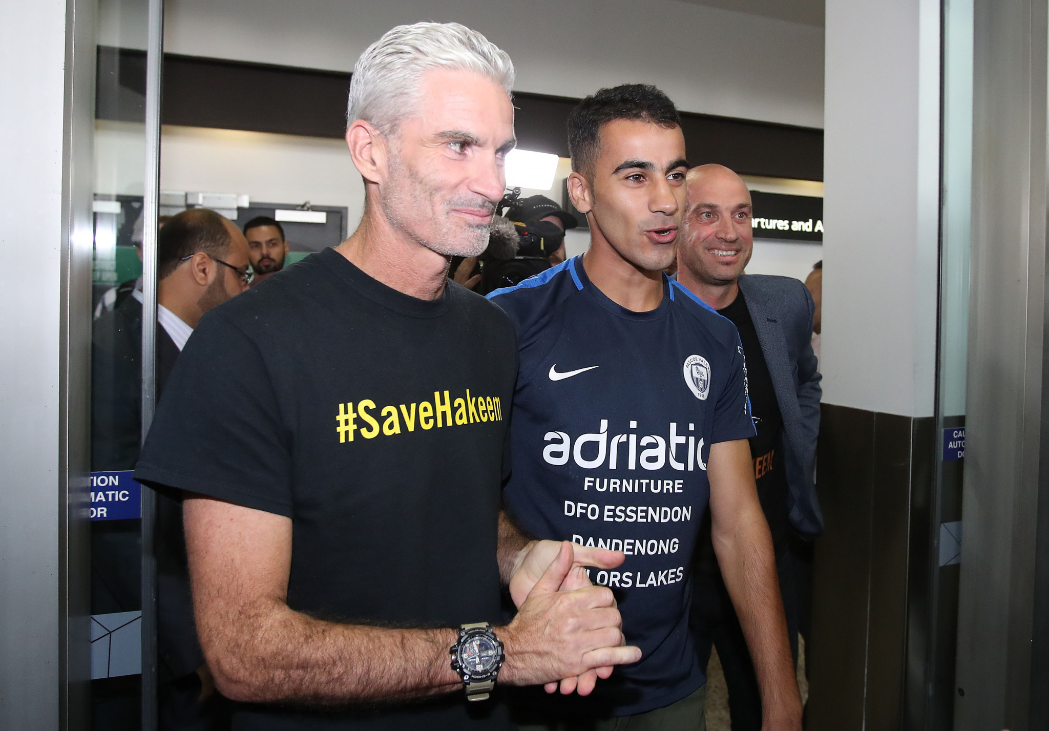 Hakeem Al-Araibi arrived back in Australia today after over 70 days in a Thai prison ©Getty Images