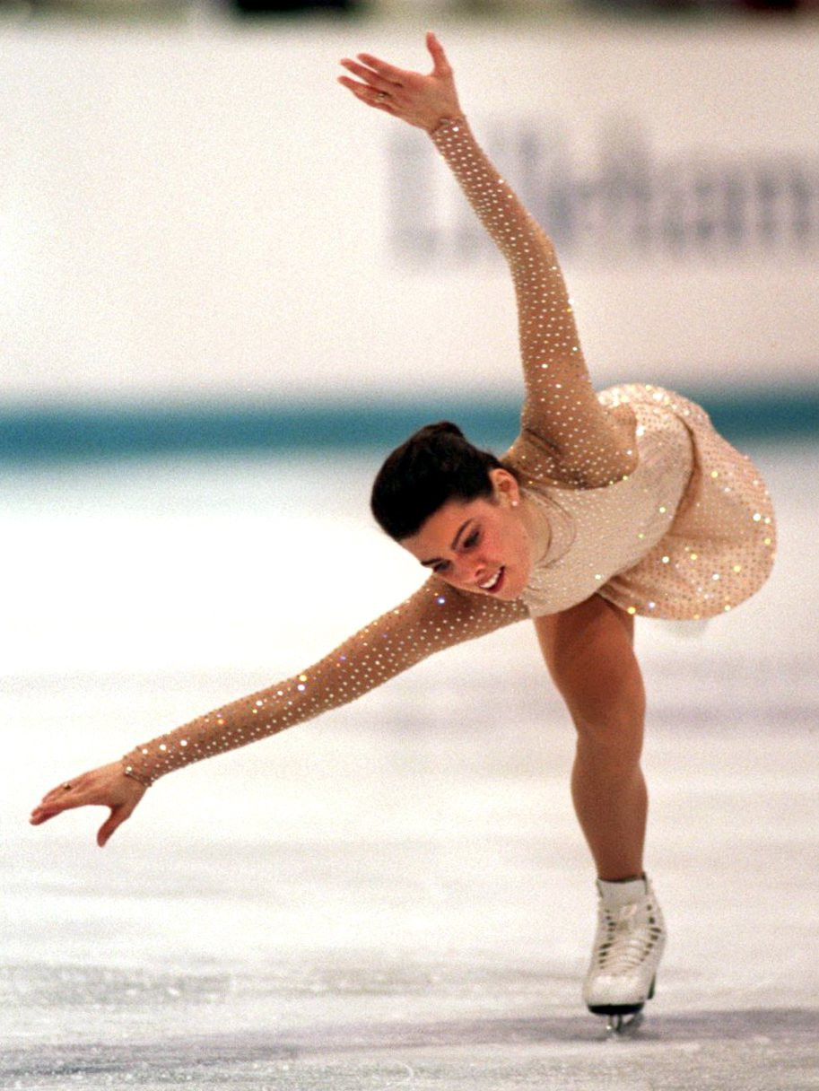 Nancy Kerrigan's figure skating rivalry with Tonya Harding received significant international attention ©Getty Images