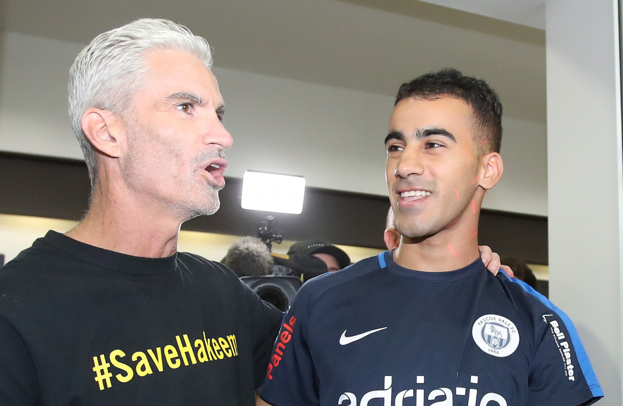 Craig Foster, who led the international campaign for his release, criticised FIFA for their lack of action in the case ©Getty Images