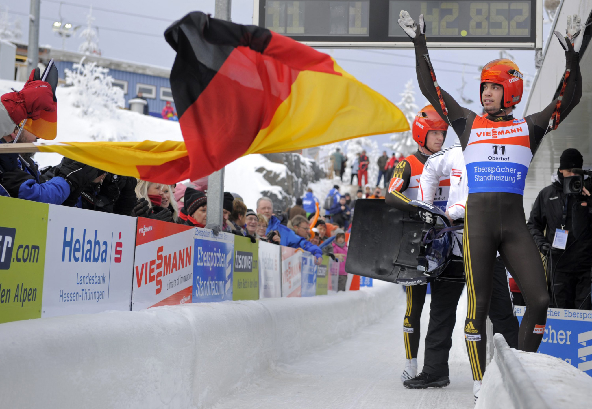 Oberhof is hoping to host the FIL World Championships for the fourth time ©Getty Images