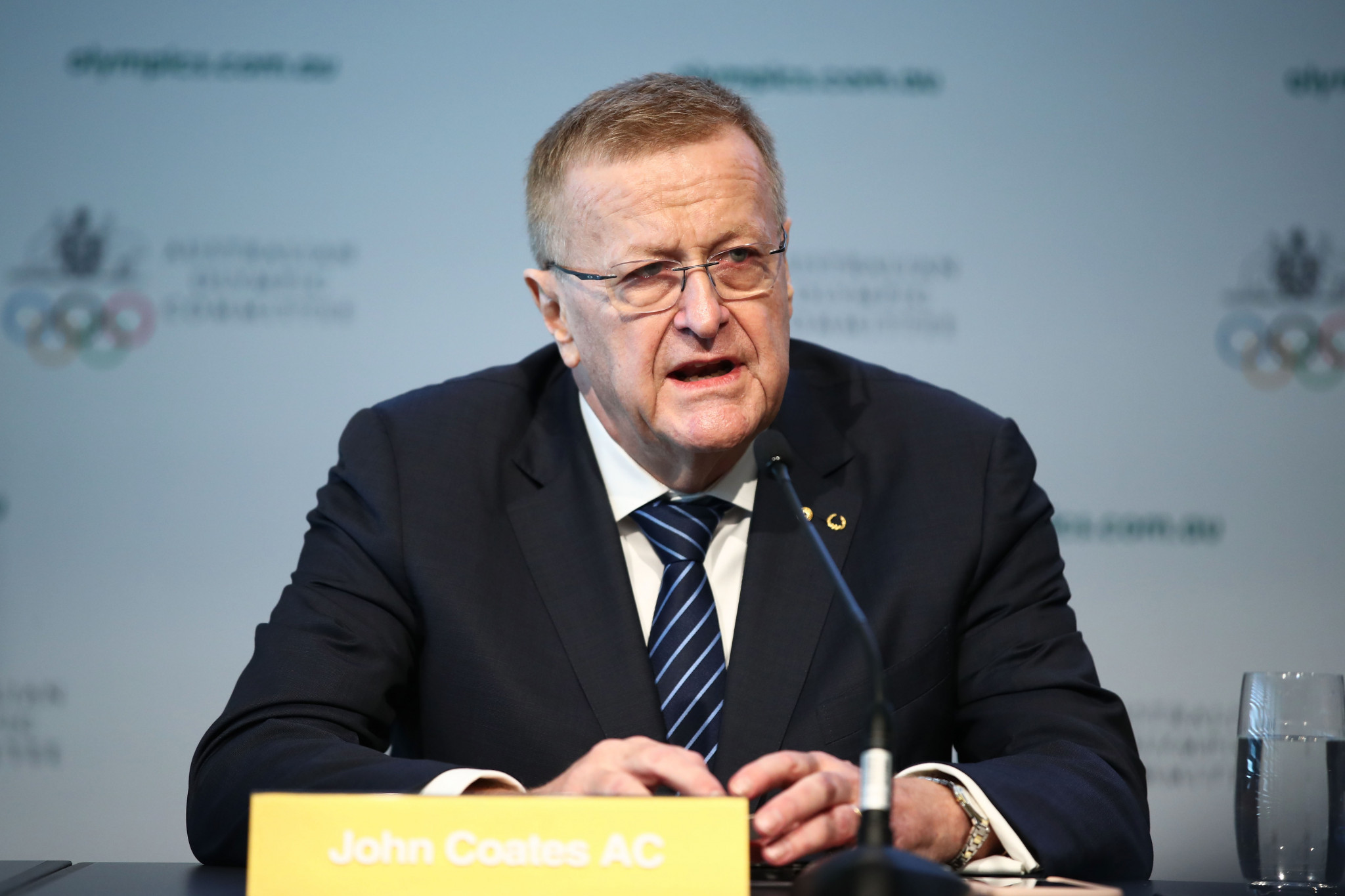 AOC President John Coates welcomed the move but questioned whether the Government had gone far enough ©Getty Images