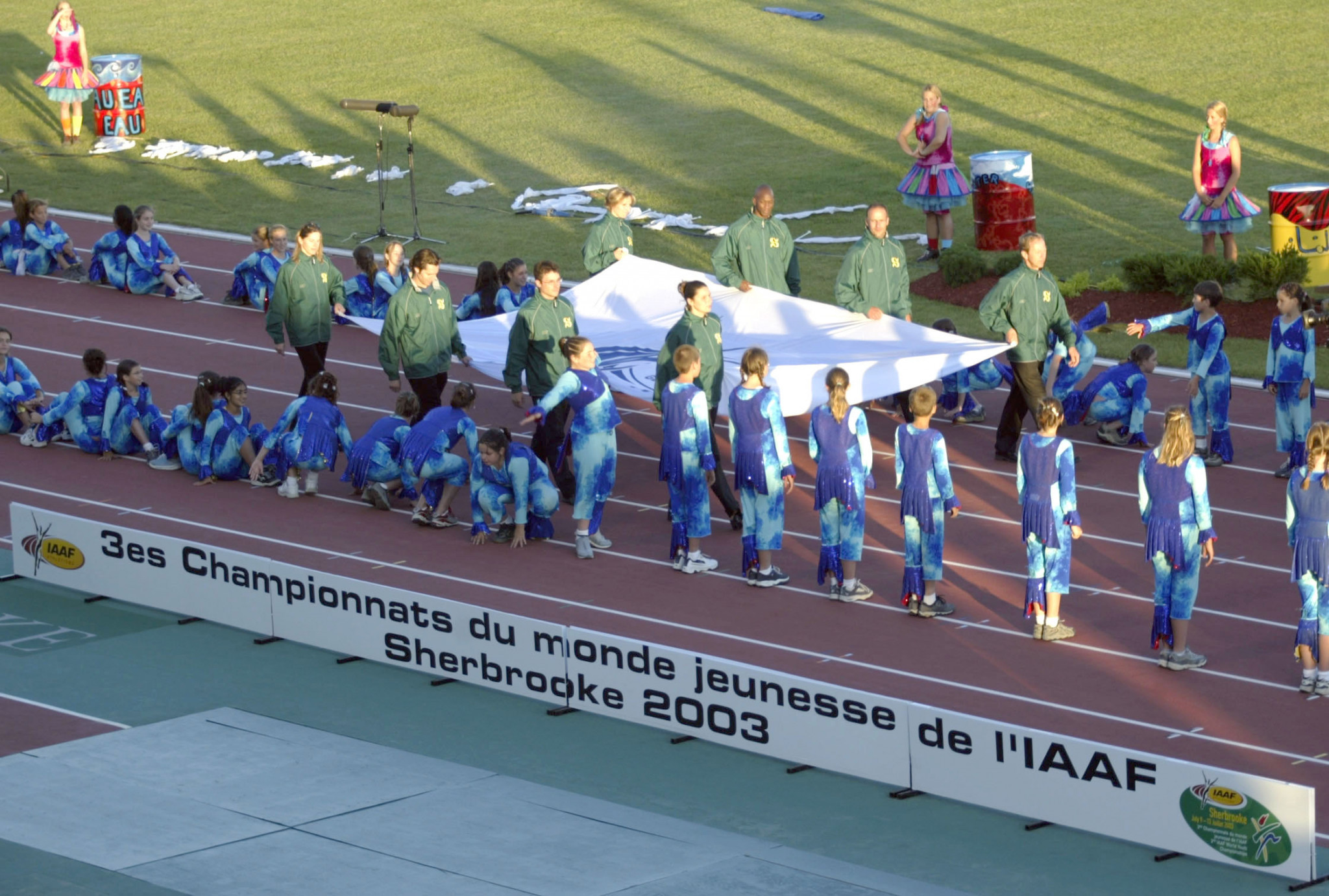 Sherbrooke staged the 2003 IAAF Youth World Championships ©Getty Images