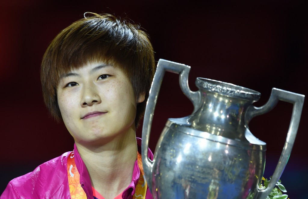 Ding overcomes injury to secure thrilling women's singles title at ITTF World Championships