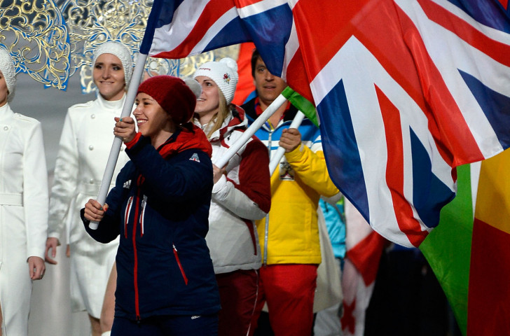 Not only did Britain's Lizzy Yarnold win skeleton gold on Valentine's Day at the 2014 Sochi Games - she also remembered to give a card to her fiancé ©Getty Images
