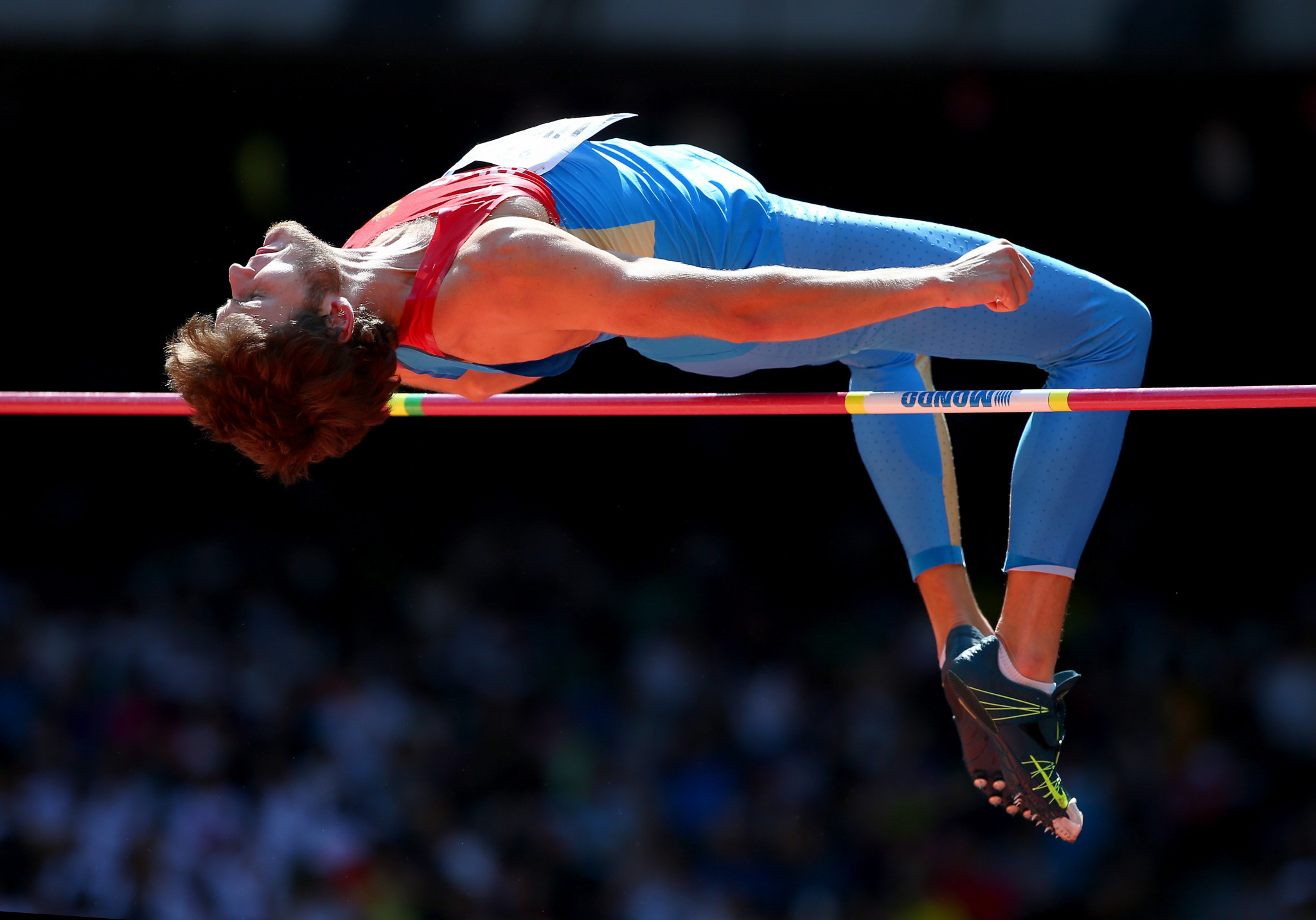The 2012 Olympic high jump gold medallist Ivan Ukhov was one of the high profile Russian athletes sanctioned by the Court of Arbitration for Sport ©Getty Images