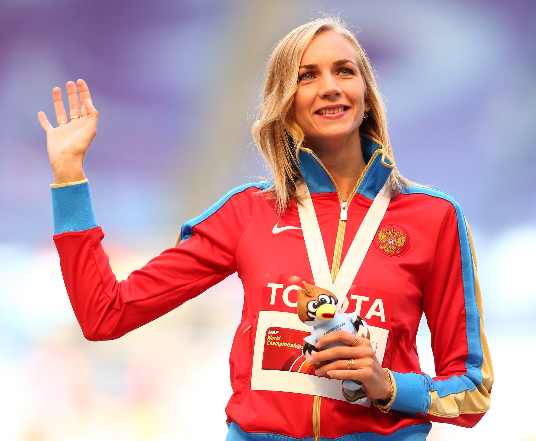 High jumper Svetlana Shkolina is set to be stripped of medals won at the London 2012 Olympics and Moscow 2013 World Championships after being found guilty by the Court of Arbitration for Sport ©Getty Images