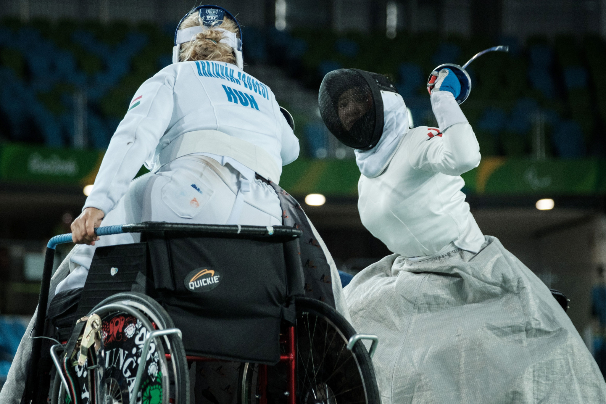 Hungarian world champion wins wheelchair fencing gold at IWAS World Games