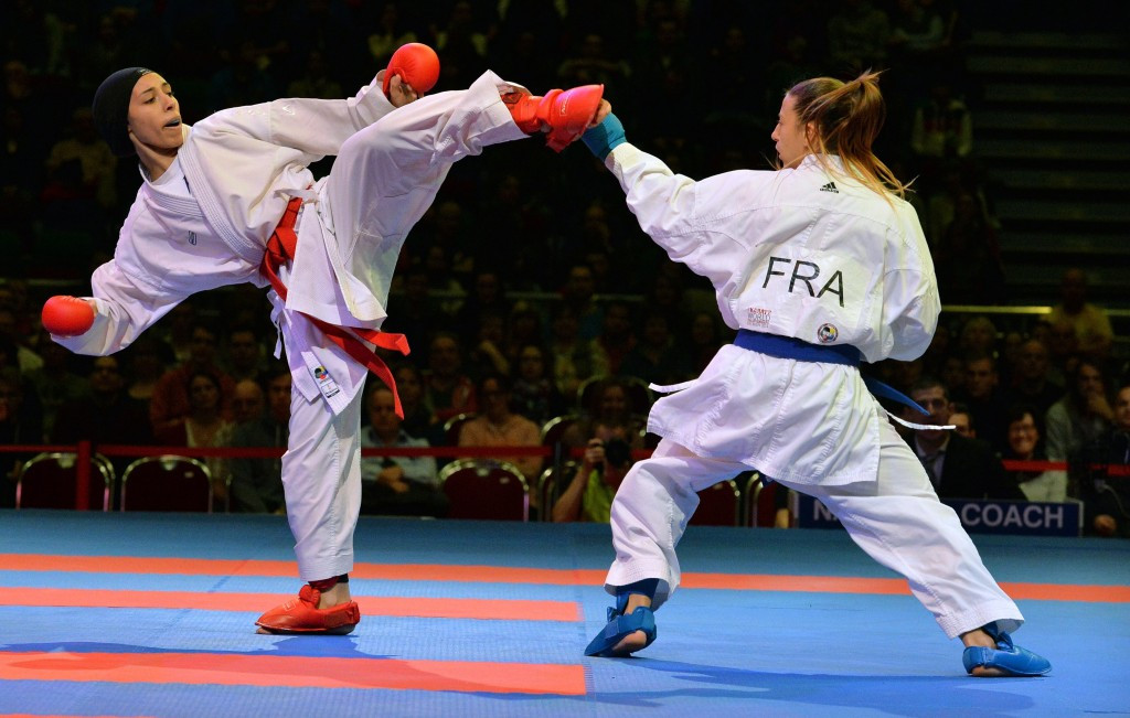 France beat United Arab of Emirates to top of medal standings at Karate1 Premier League in Salzburg